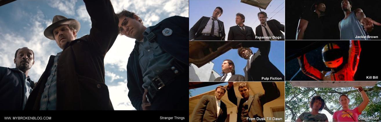 Telefilm Stranger Things Tarantino