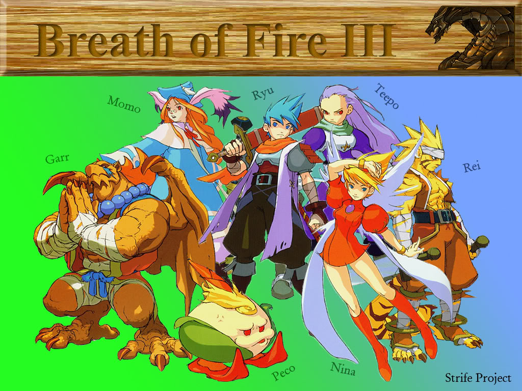 Gdr Breath of Fire 3